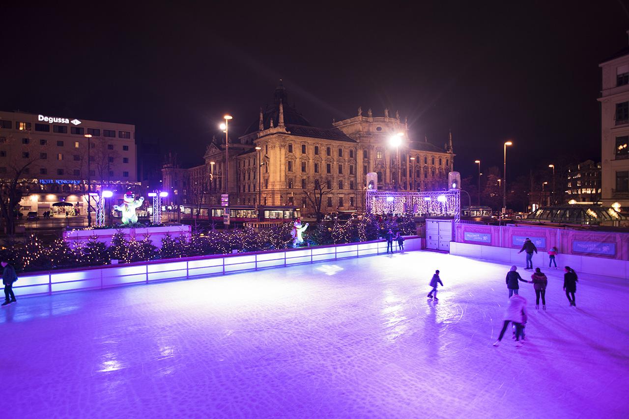 Pendulum Magazine A Day in Munich Karlsplatz Skating Rink