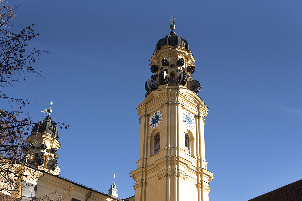 Various Italian style architecture can be spotted in the city of Munich.