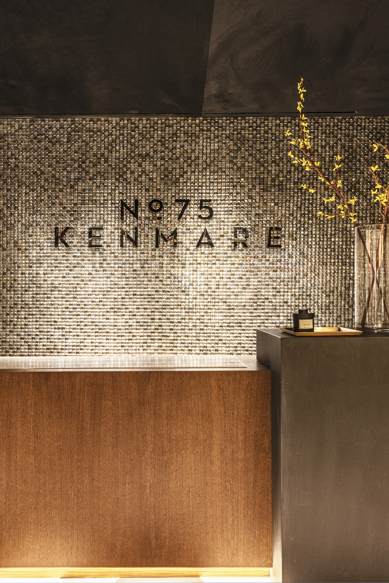 75 Kenmare's 24/7 concierge . Photo by Gianni Franchellucci.