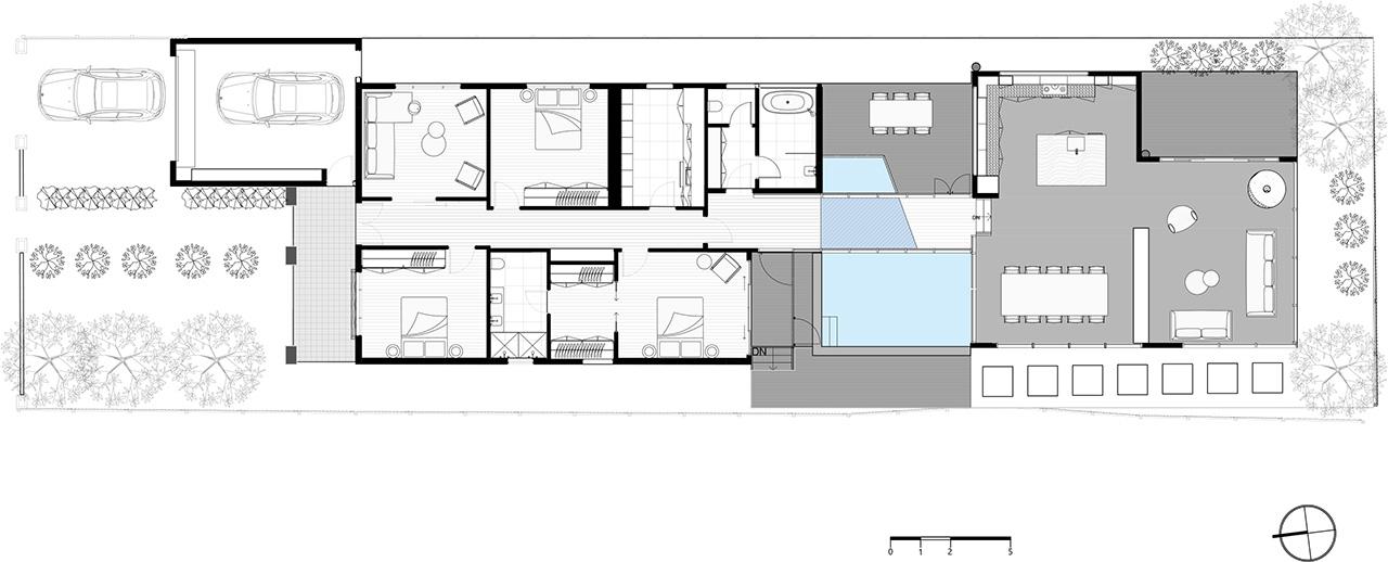 Project floor plan.