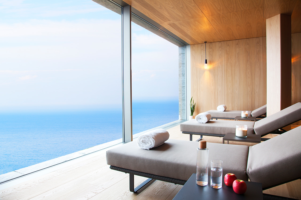 The perfect spot to extend your relaxation post spa and massage.