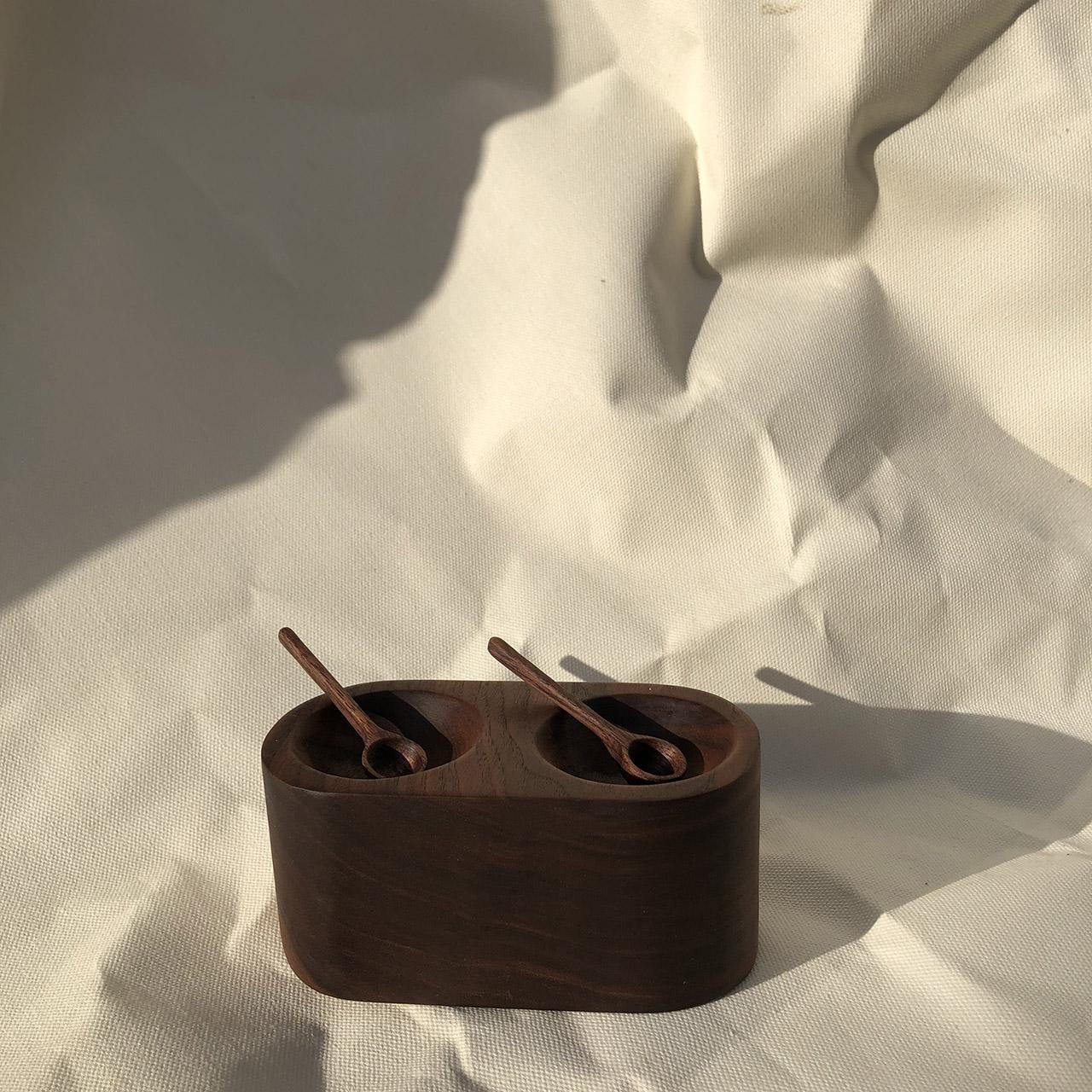 Salt & Pepper Cellar from Unlikely Objects