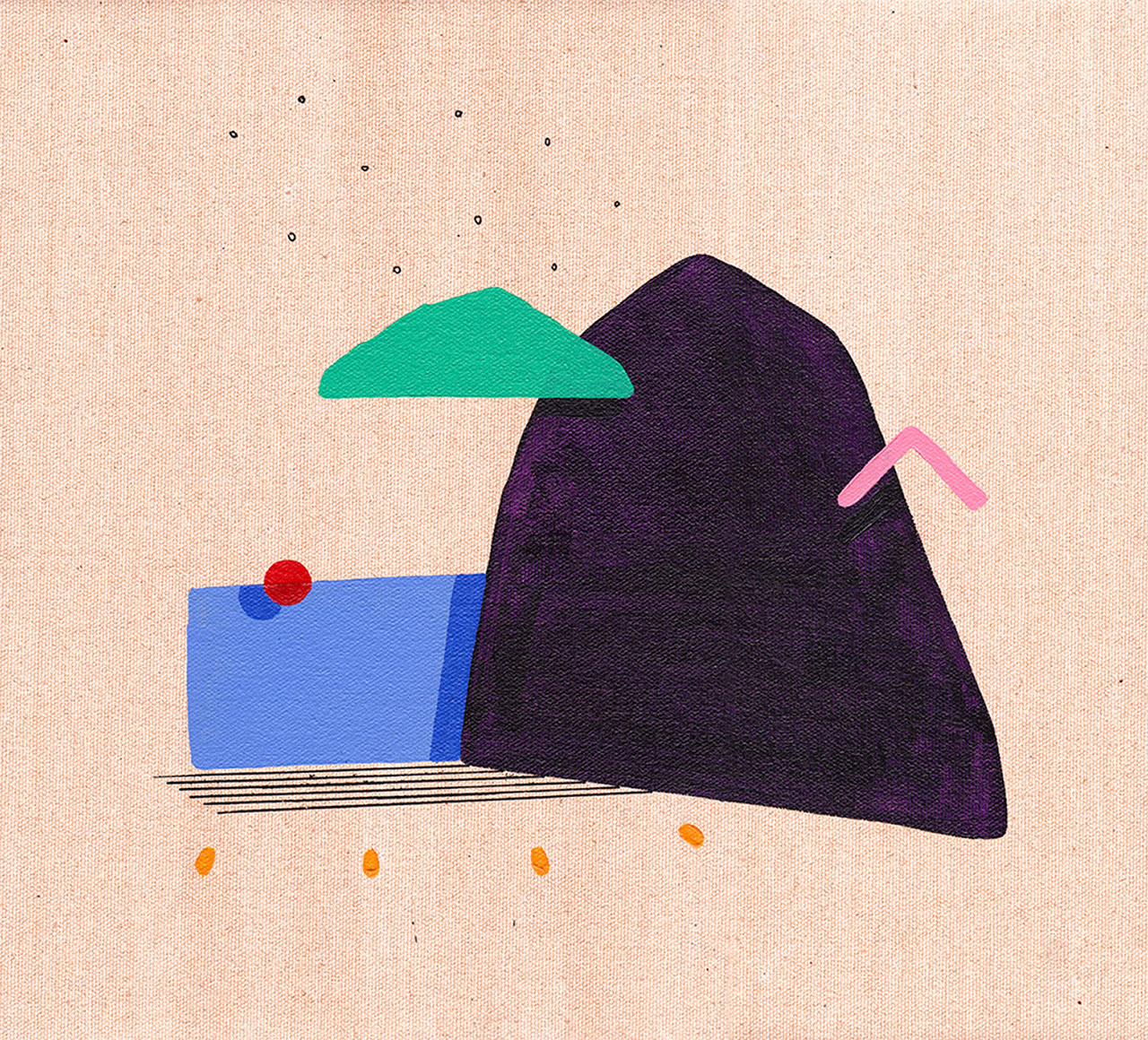 Purple Mountain by David Esquivel