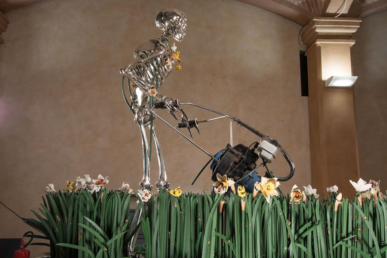 Madonna scheletrita.