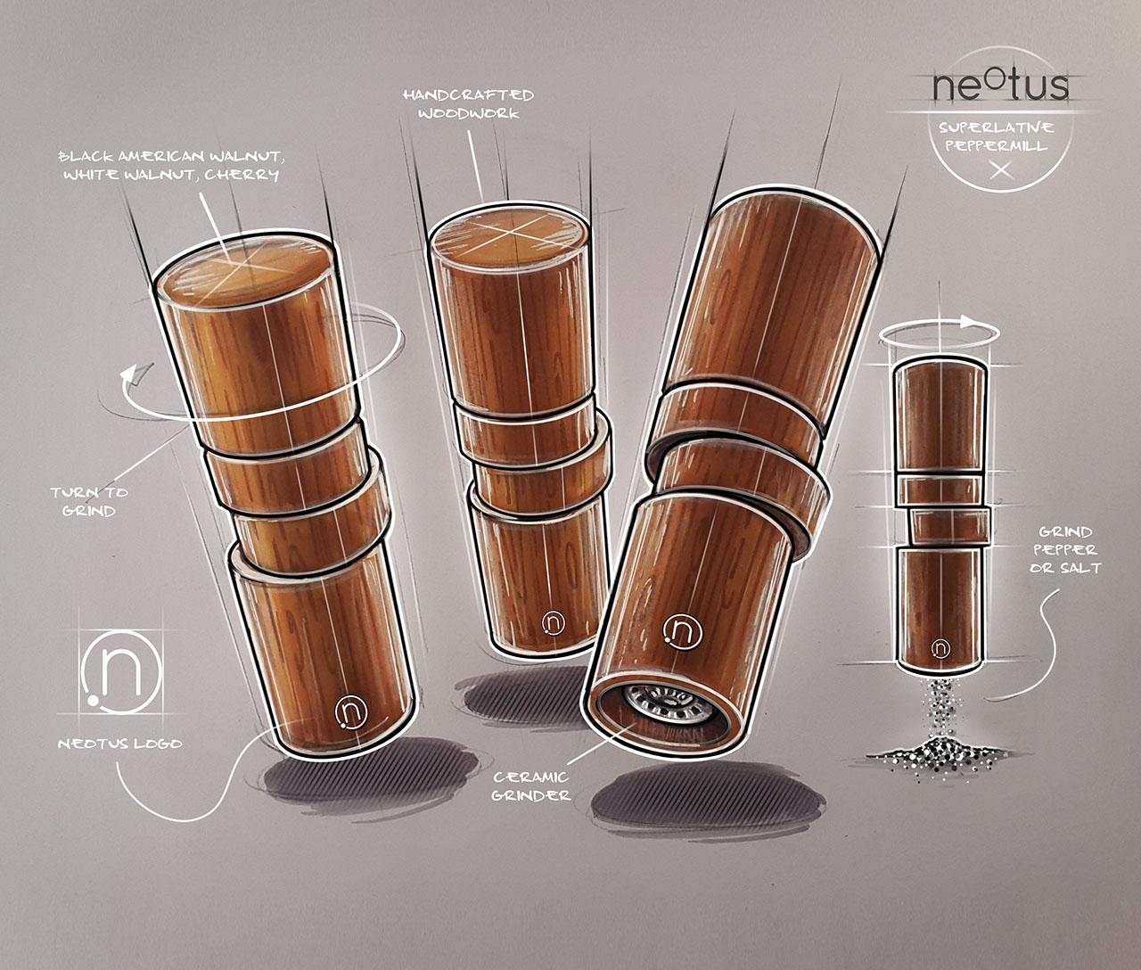 Neotus X Pendulum Magazine