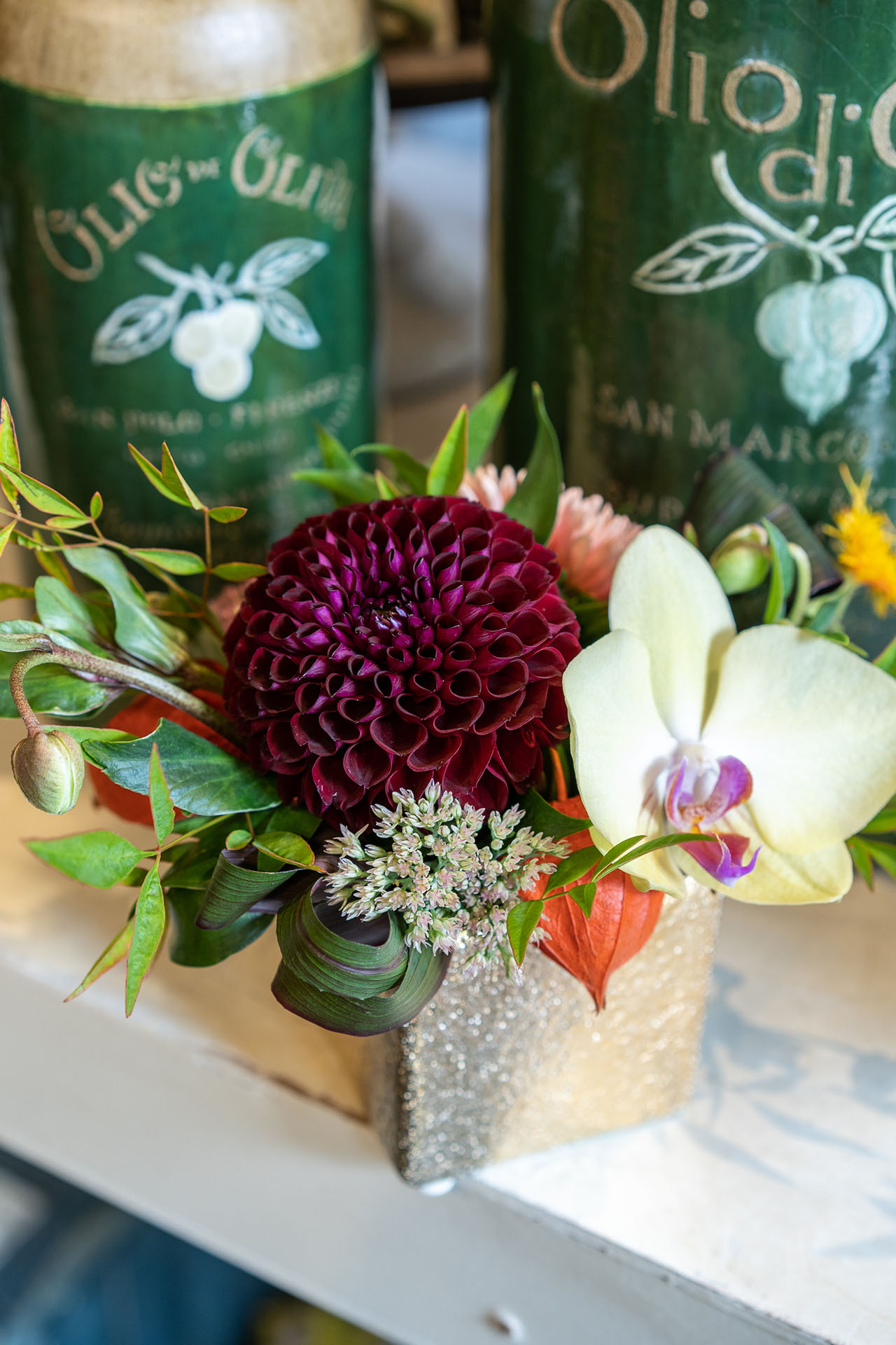 Miniature arrangements perfect for your dining or patio table.