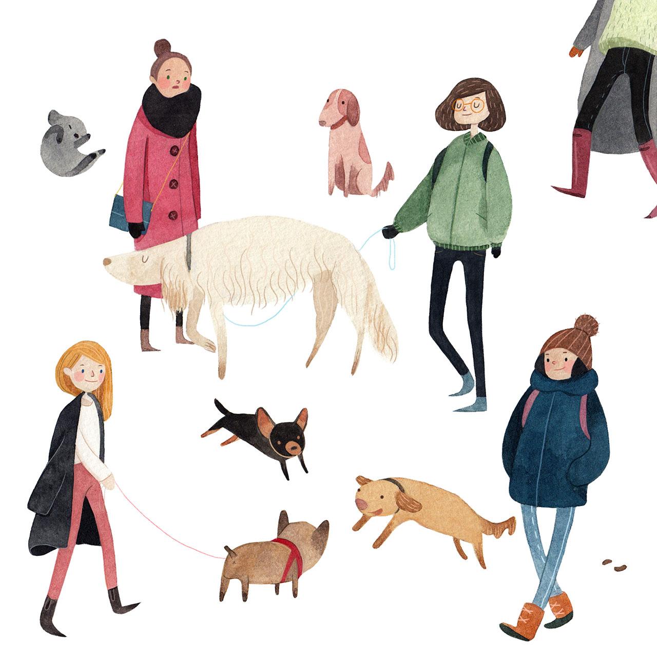 Dogwalkers.