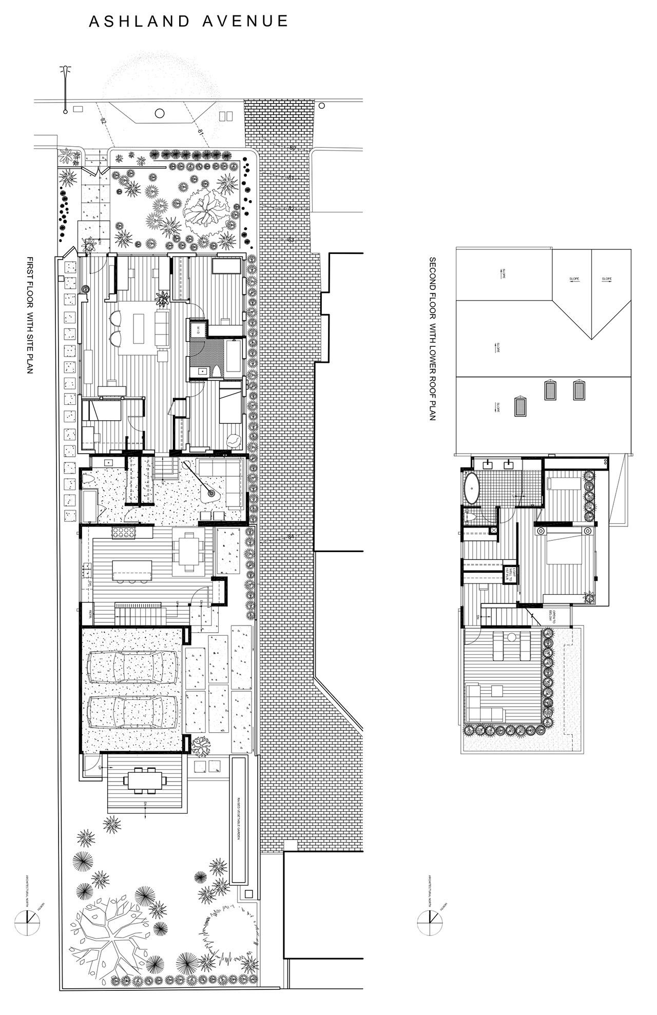 Hsu McCullough Site Plan Ashland Residence X Pendulum Magazine