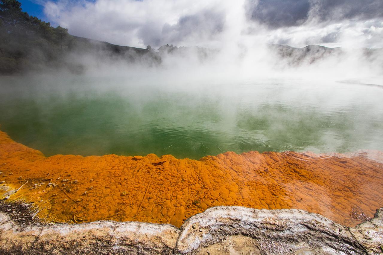 Waiotapu thermal wonderland.