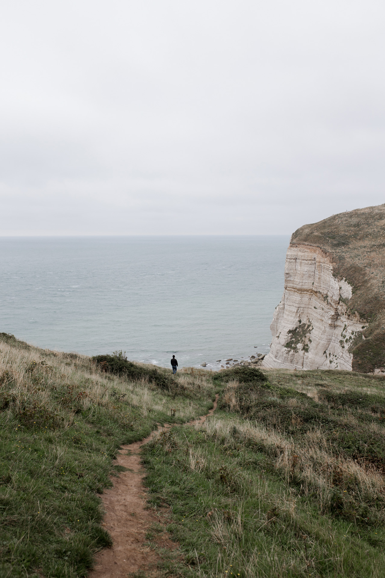 Along the cliff