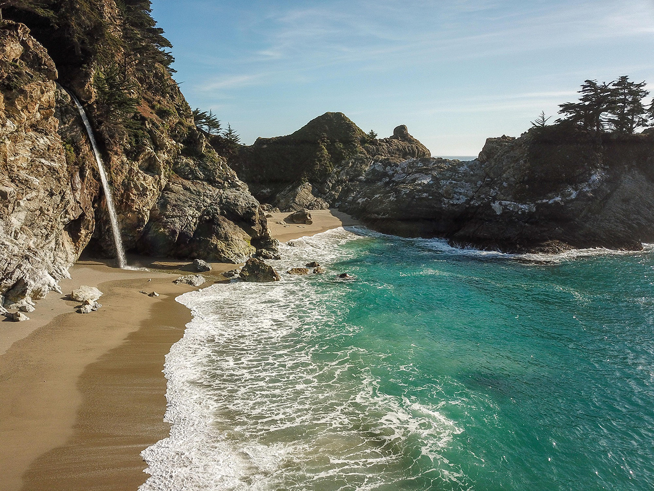 The beauty of McWay Falls.