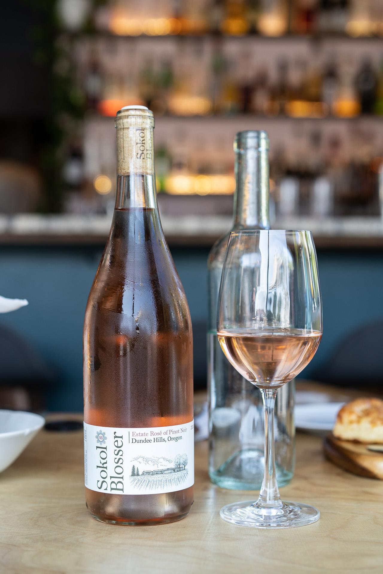 Sokol Blosser from Oregon, US. 100% Pinot Noir.