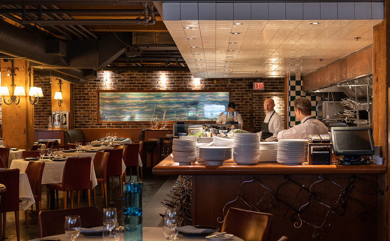 Blue Water Cafe Yaletown Seafood Restaurant by Pendulum Magazine