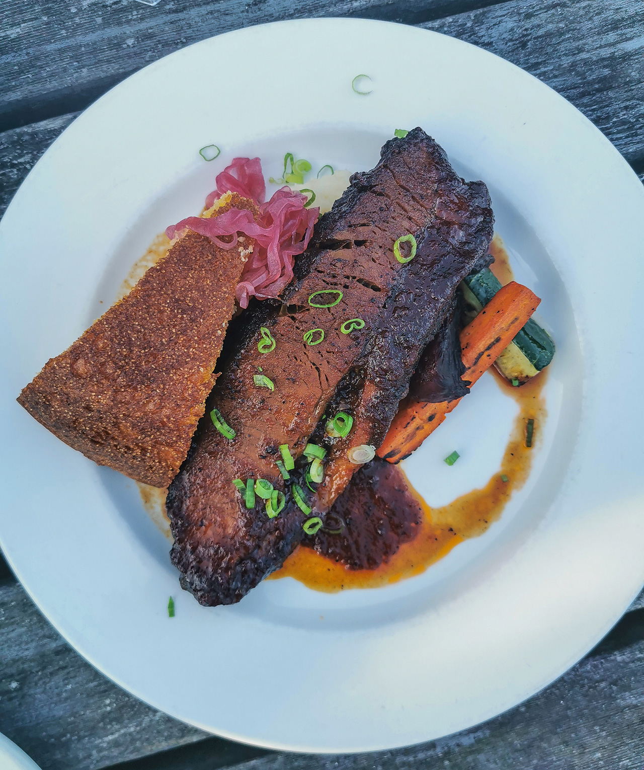 Extremely flavourful beef brisket.