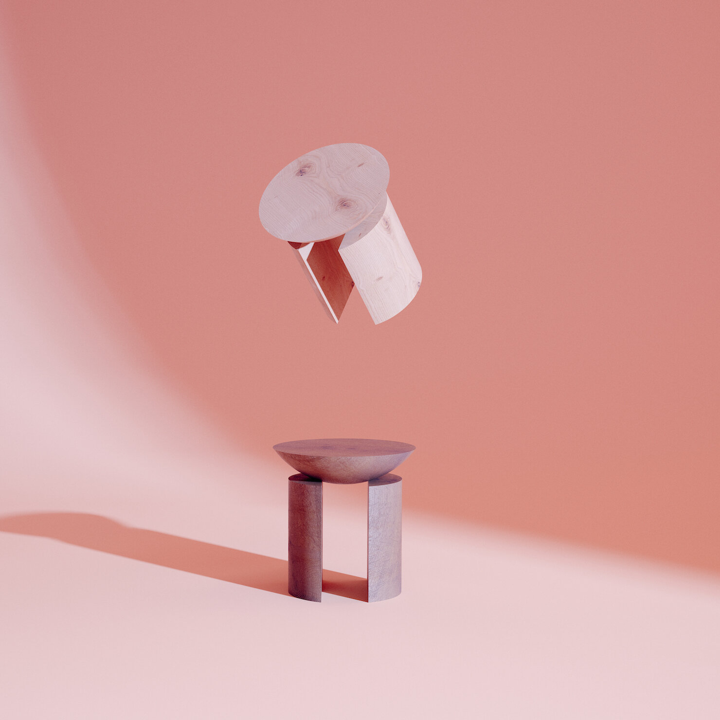 The Anca stool means hip, and is inspired by colonialism, Christian desire, asceticism and sin.