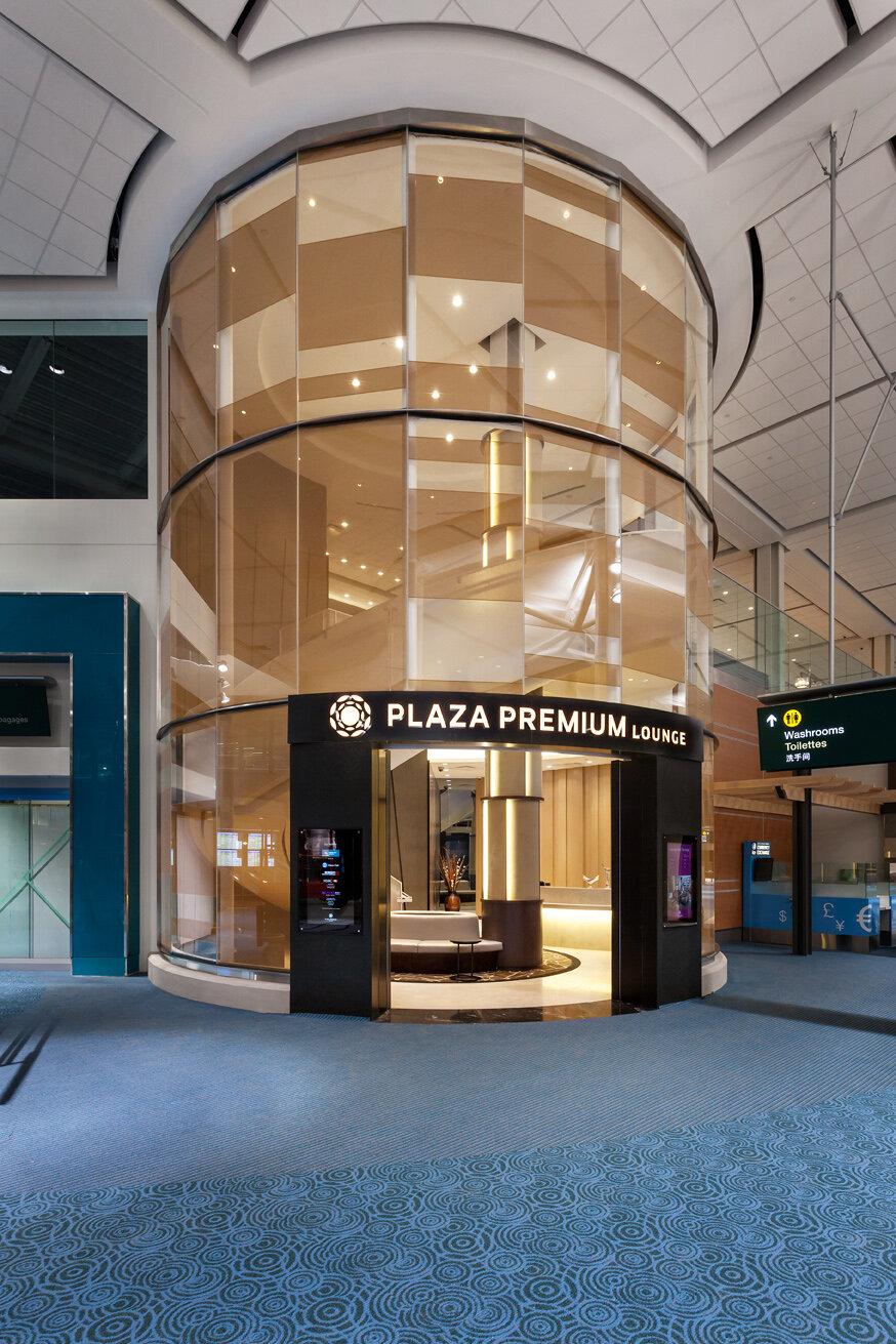 Plaza Premium Lounge Vancouver Domestic Lounge