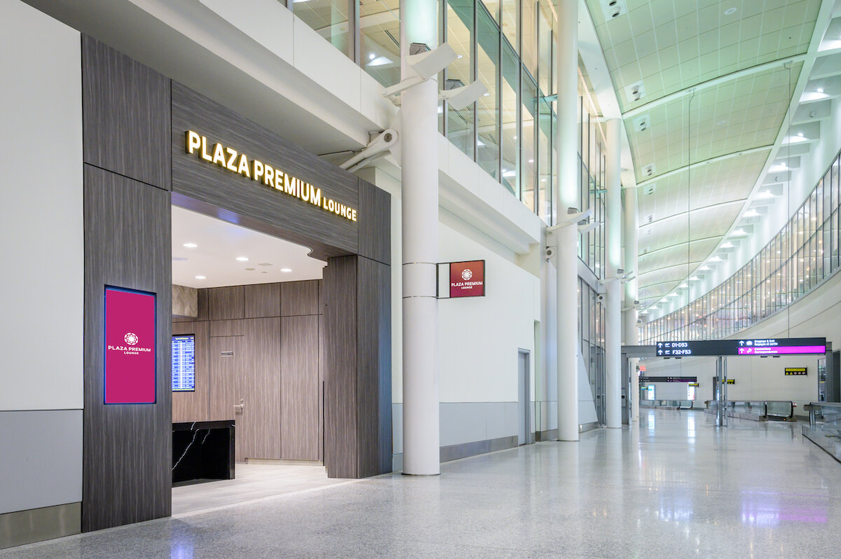 Plaza Premium Lounge Toronto T1-US Trans Border Lounge.