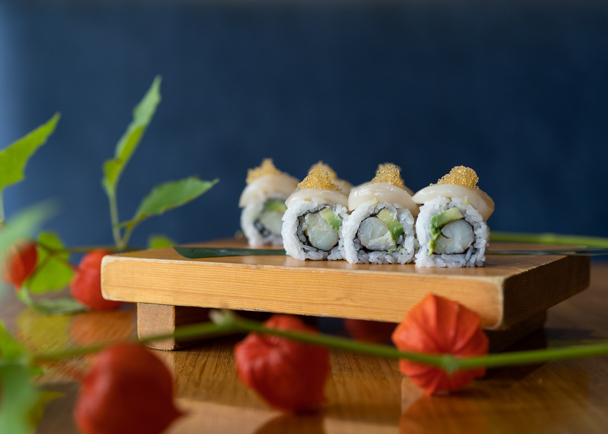 Pacific Northwest Roll - one of Tojo's signature rolls.