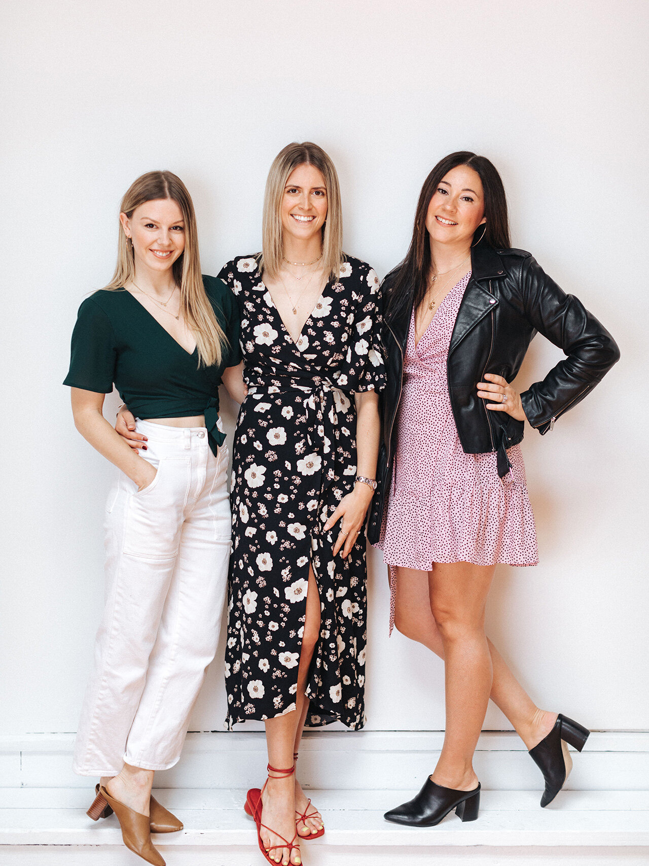 Park & Fifth founders. From left, Zoe Tisshaw, Brooke Johansen and Jenny Wright-Harper.