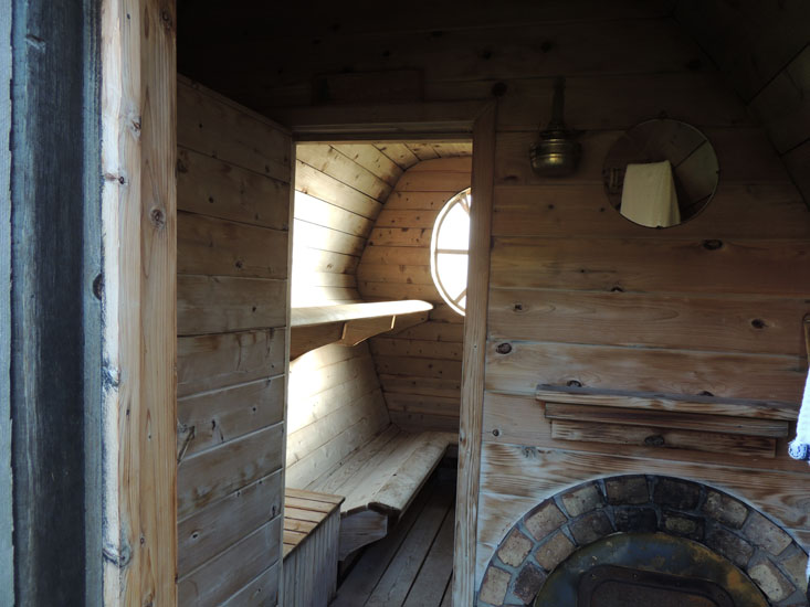 Saunas-The Rustic Way
