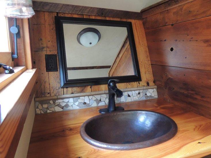 Bathrooms-The Rustic Way