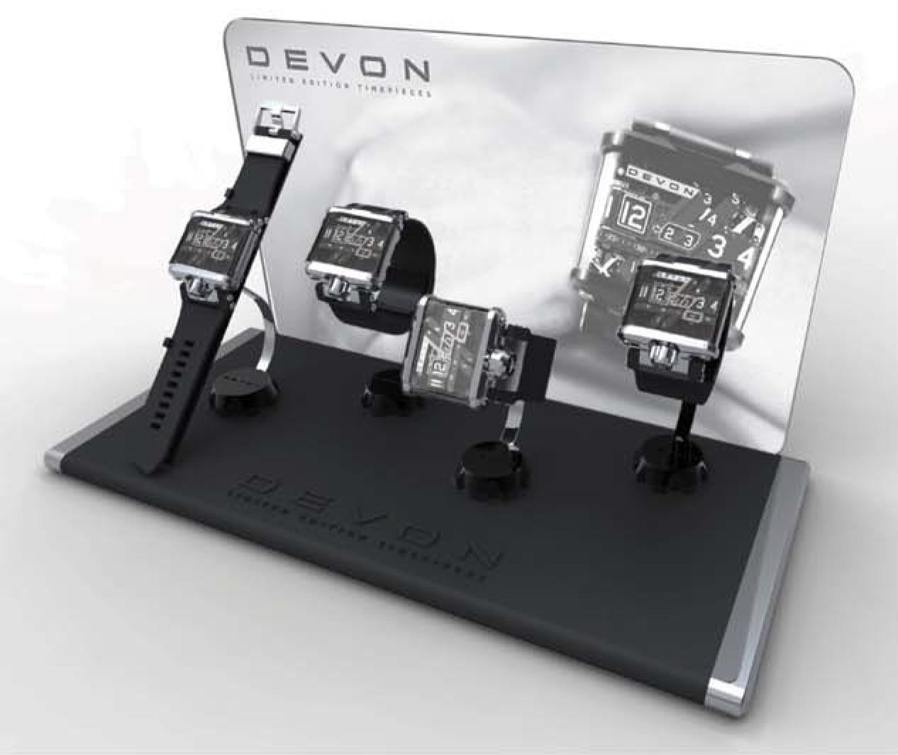 Devon Mens Watch POP Display Concept