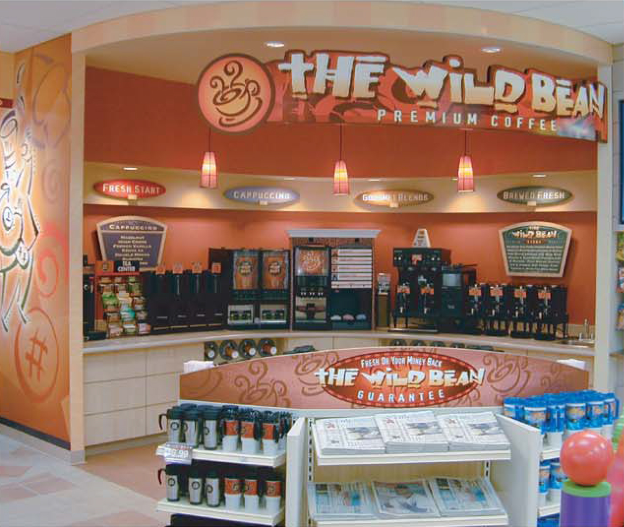 The Wild Bean Cafe In-Store Coffee Shop