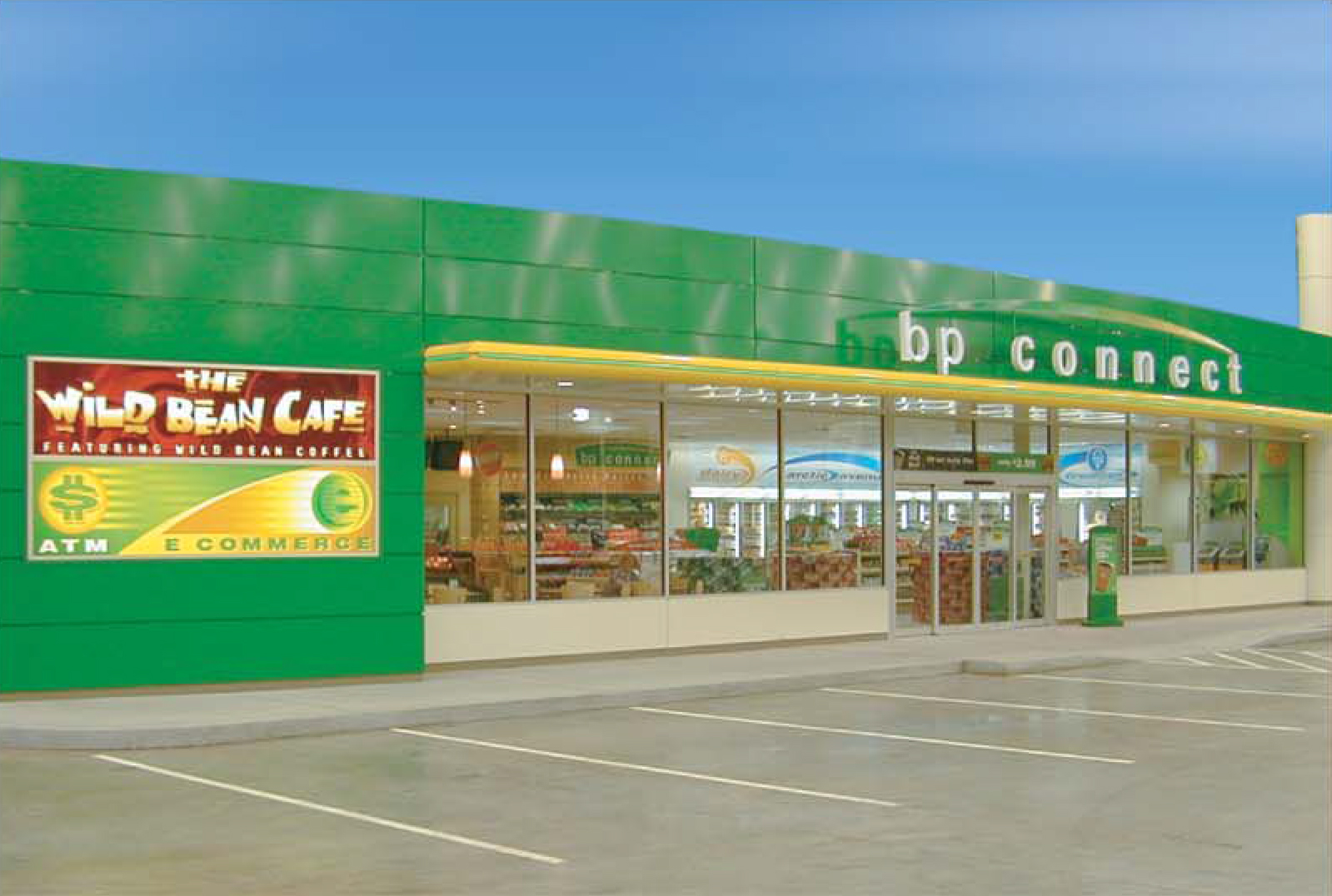 BP Connect Store Exterior