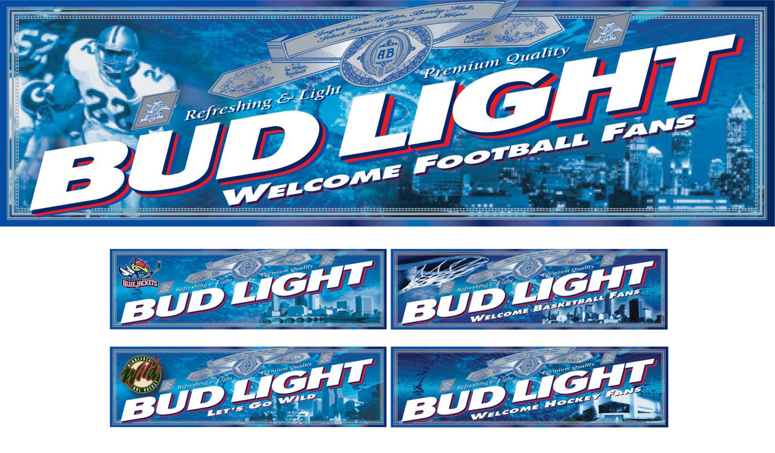 Bud Light Multi-City Billboard Graphic System