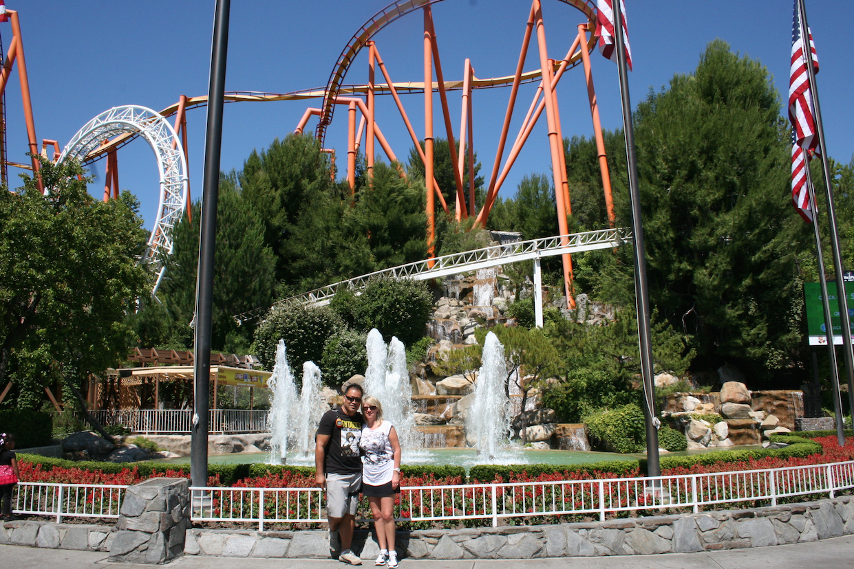 Six Flags - California