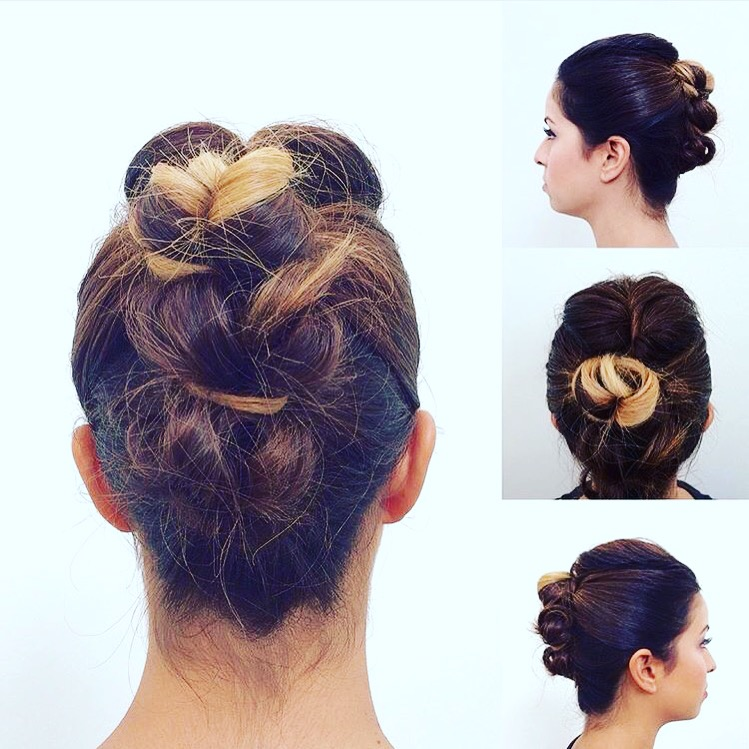 Updo by Gillian Hanson