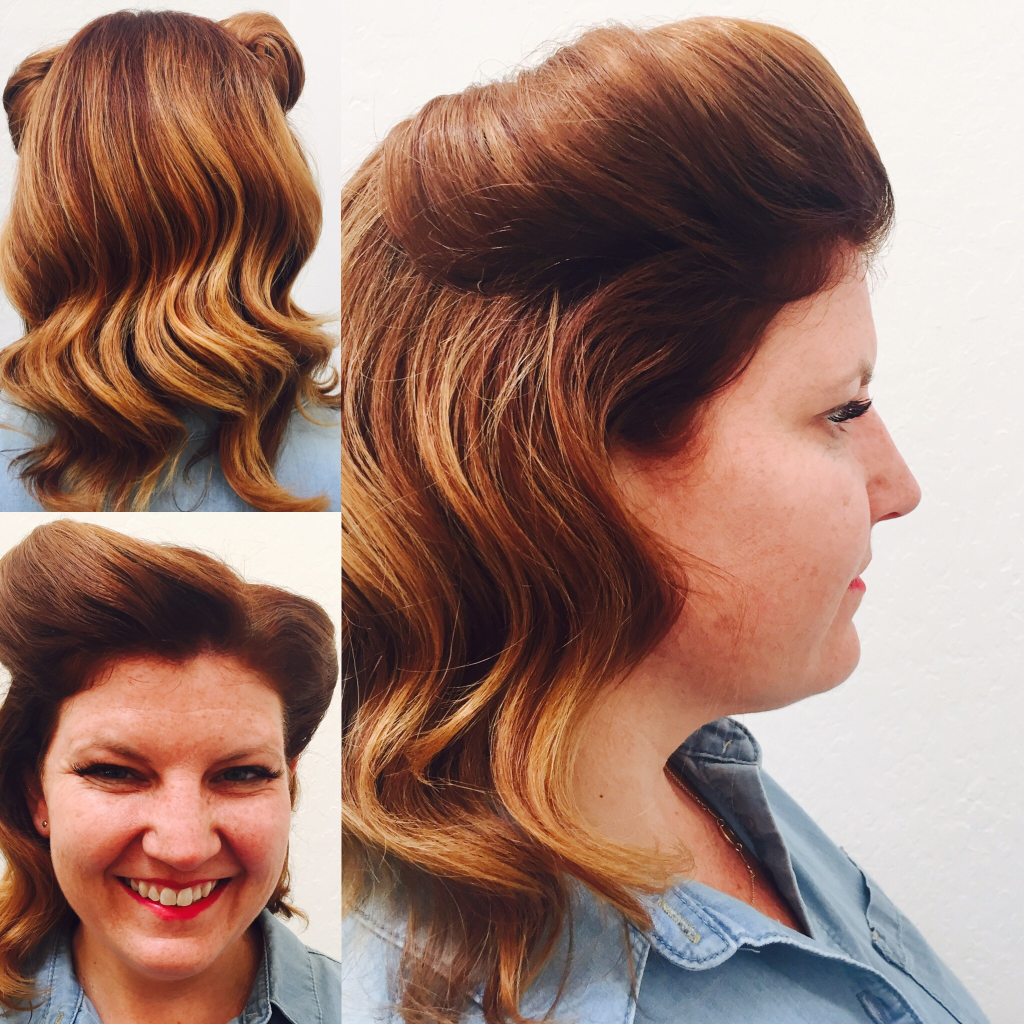 Vintage Hairstyling by Gillian Hanson