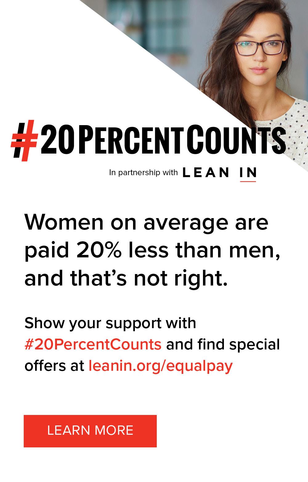 20% counts