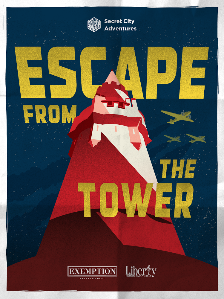 ESCAPE FROM THE TOWER  - Secret City Adventures, as Producer for the 2017 remaster.