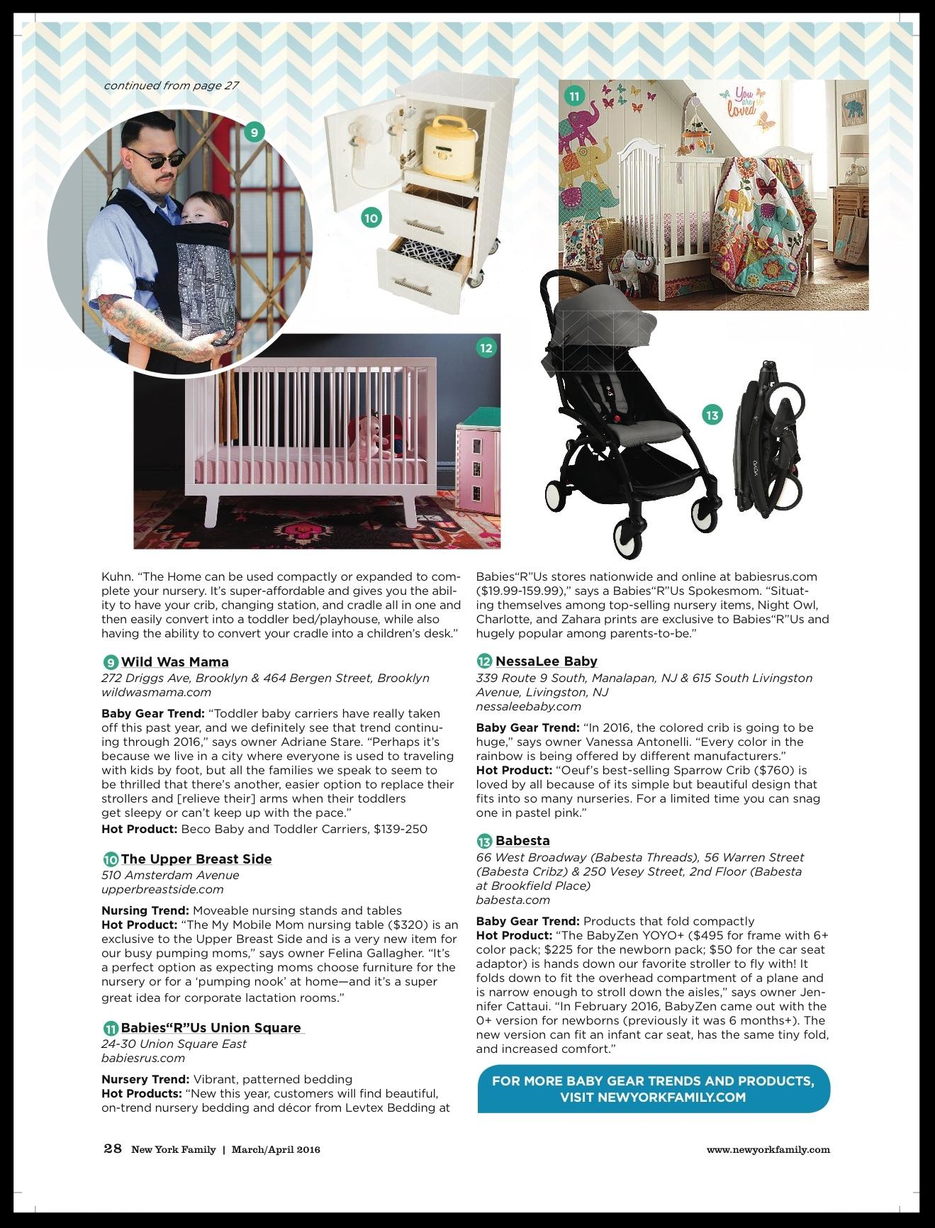 New York Family Magazine - Best in Baby..Favorite Trends and Products newyorkfamilymagazine.com