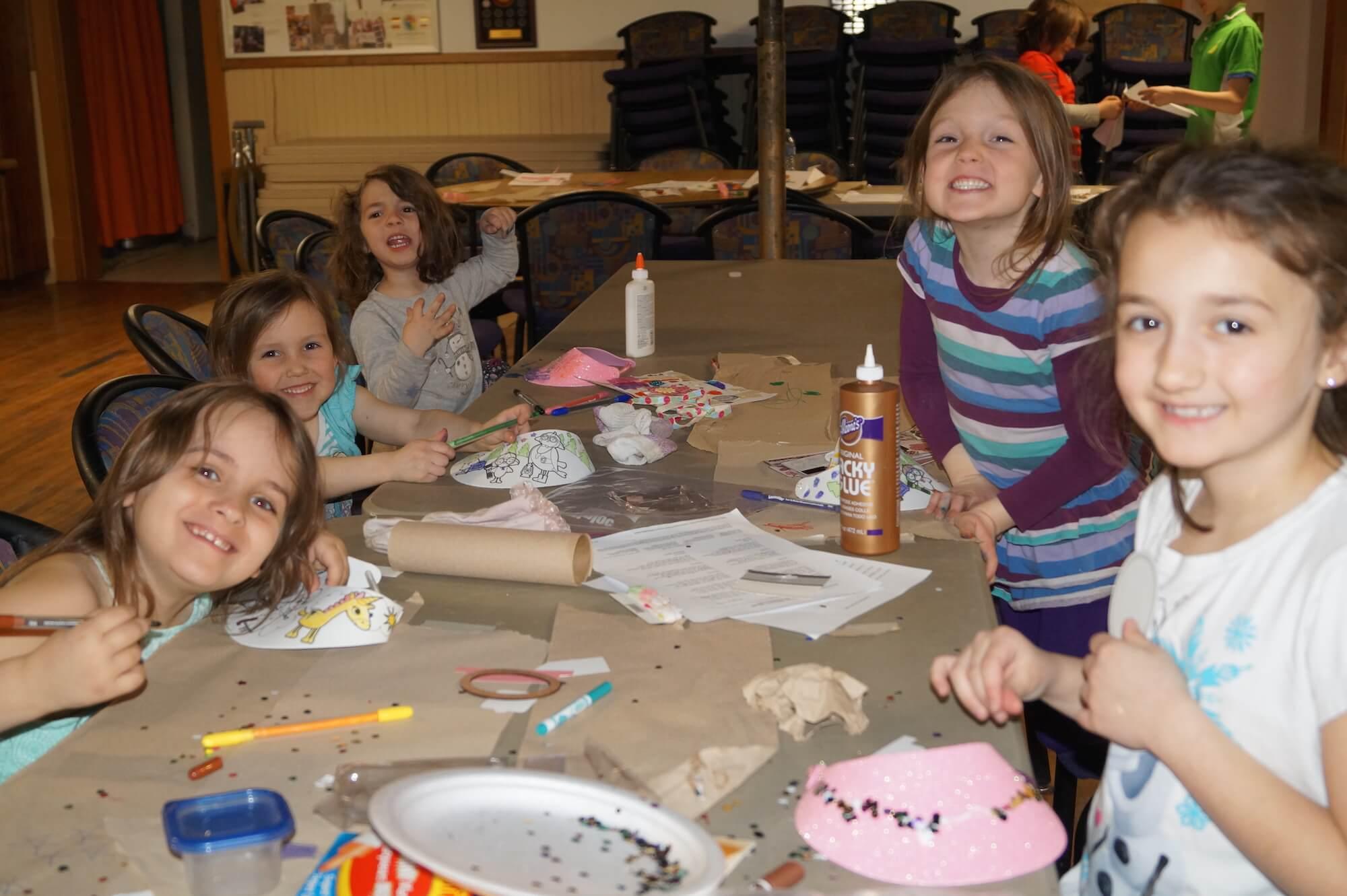Irish Crafts with Youths in Sudbury