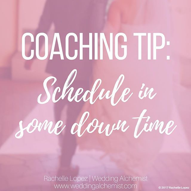 It's silly that we have to schedule in time to relax, but with how busy we are these days, the best way to ensure you find the time to unwind is by scheduling it into your calendar. I usually tell people I'm busy when in reality I'm at home, snuggled up on the couch reading a book or watching tv.🤫😁 • • #weddingalchemist #weddingalchemisttips #thingscoachessay #coachinglife #coachingtip #coachingtips #weddingtips #weddingtip #womeninbusiness #womenentrepreneurship #iloveyou #bride #groom #weddings #wedding #springwedding #springtime #spring #mayflowers #weddingseason #aprilwedding #downtime #busy #busylife #relax #unwind #schedule #lifetip