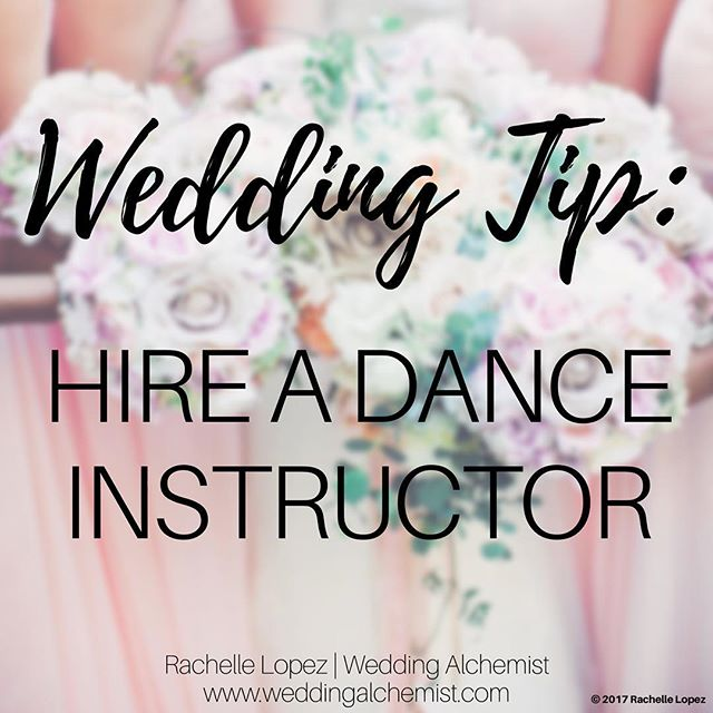 You don't need to do a grand first dance (unless you feel comfortable performing and memorizing steps), but if you or your hubby want to do more than sway together for your first-dance, hire a professional to teach you some basic steps. An experienced dance studio will even help time and edit your song so you won't have to dance for the full length of the music.💃🕺😊 • • #weddingalchemist #weddingalchemisttips #thingscoachessay #coachinglife #coachingtip #coachingtips #weddingtips #weddingtip #womeninbusiness #womenentrepreneurship #iloveyou #bride #groom #weddings #wedding #springwedding #springtime #spring #mayflowers #weddingseason #aprilwedding #firstdance #danceinstructor #danceteacher #dancestudio #firstdanceasmrandmrs #weddingfirstdance