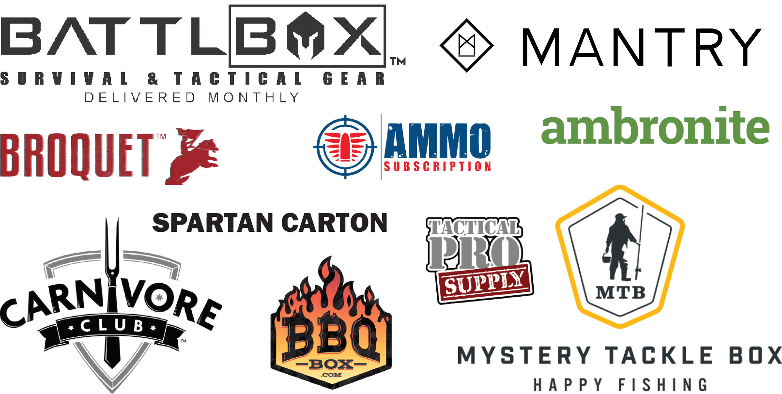 Several of the brands we manage -