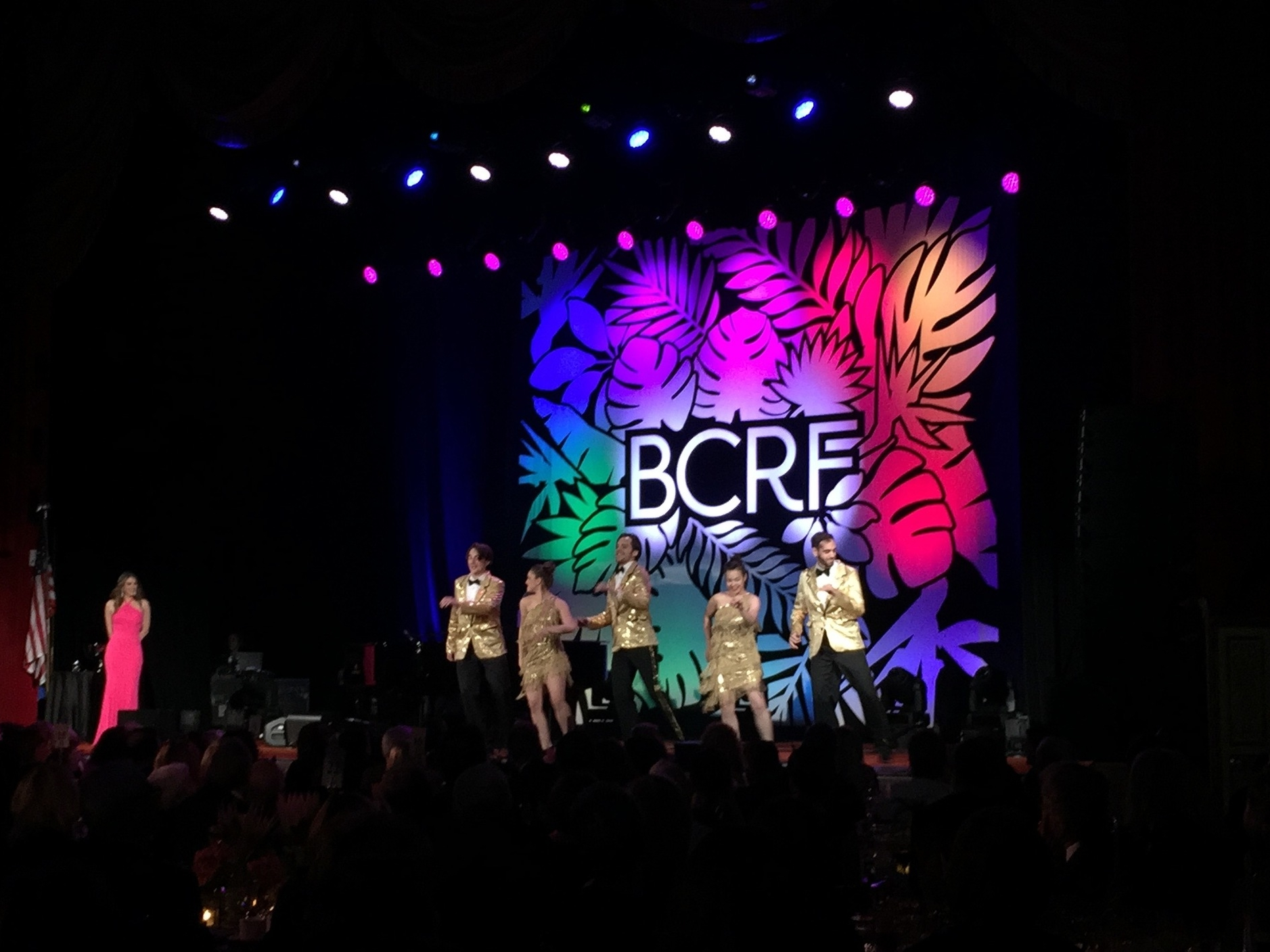 BCRF NYC 2016  Client: Breast Cancer Research Foundation & Rafanelli Events Services: Audience interaction, full choreographed performance