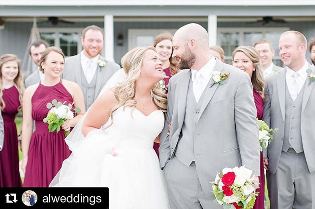 Giddy over catching a glimpse at the professional photos from this past weekend's beautiful (and FUN!) wedding! Happy Honeymooning, Moons! #floraldesign #weddingflorist #alabamaflorist #rolltidebride  #Repost @alweddings (@get_repost) ・・・ PURE JOY! It's something we get to experience quite frequently on a wedding day & it's a large portion of why we are SO #driven with weddings. We are incredibly thankful, blessed, over joyed, happy, & all the feels that this is where our passion lies. In Weddings - creating lifelong memories for so many legacies and November always makes that hit home a little harder. We hope everyone has an amazing Thanksgiving week! Until then here is a gorgeous sneak peak of Brittany & Trey's wedding day! Which was filled with JOY & we had a blast with these two & their friends 😍😍😍