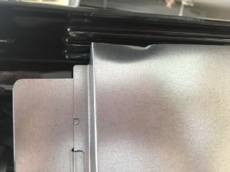 A few photos of some of the damage on my oven.