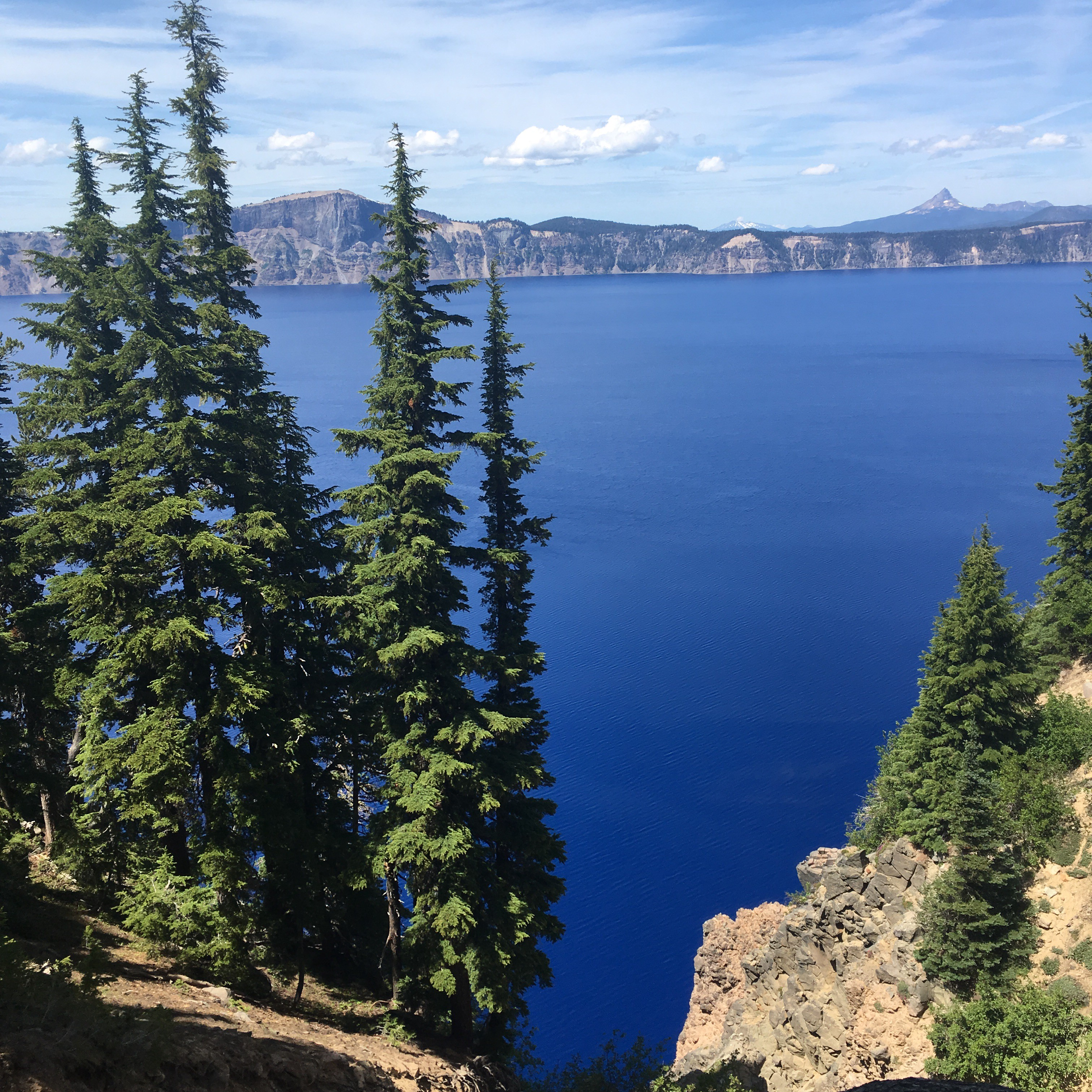 Completely un-edited photo of Crater Lake.