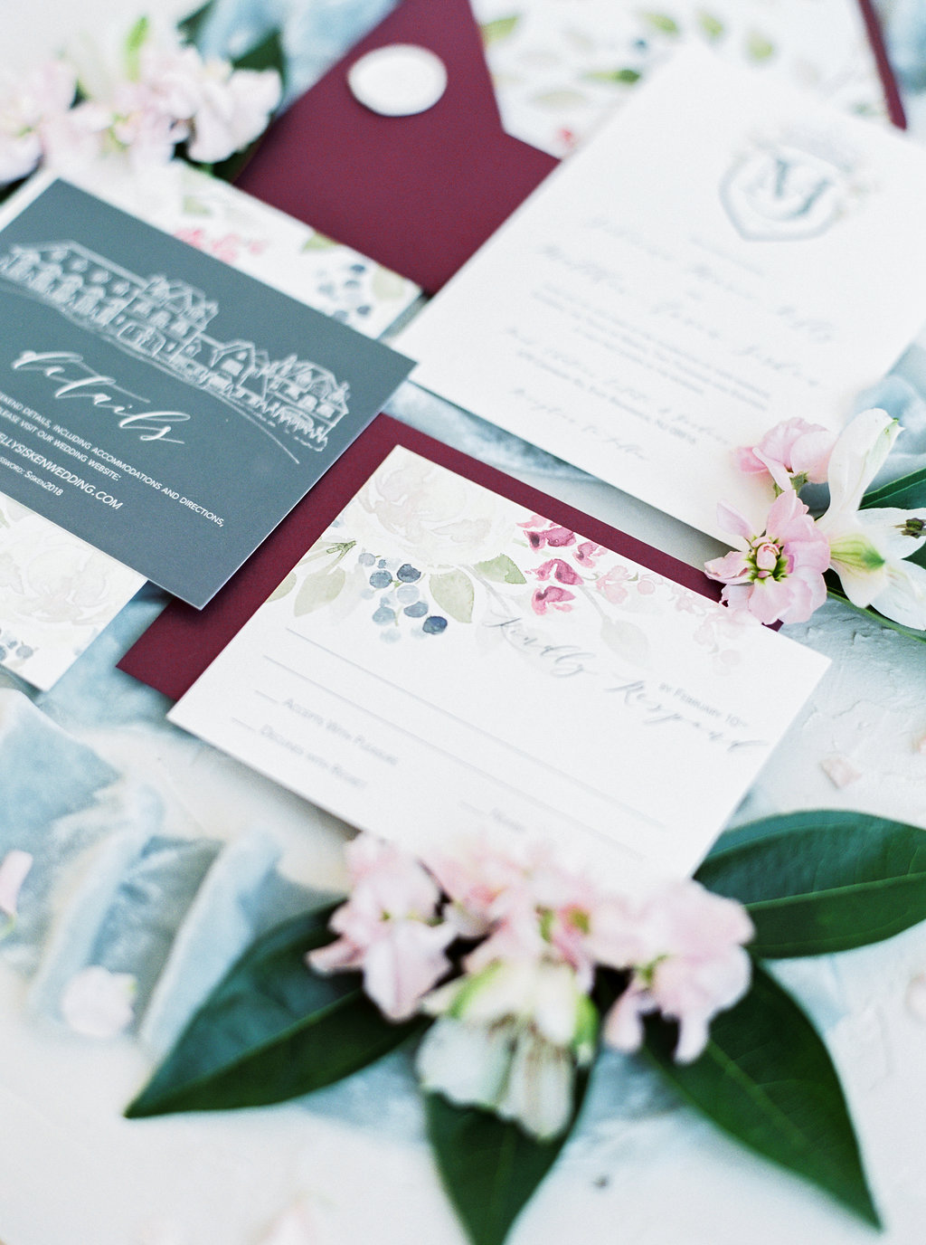 A simple guide to printing methods for wedding invitations.  Which method is the most cost effective? Which printing method can I pair with watercolor? Which printing method is best for handmade paper?  All answered in this handy little blog post by Katrina | Blushed Design, wedding invitations and fine art portraits
