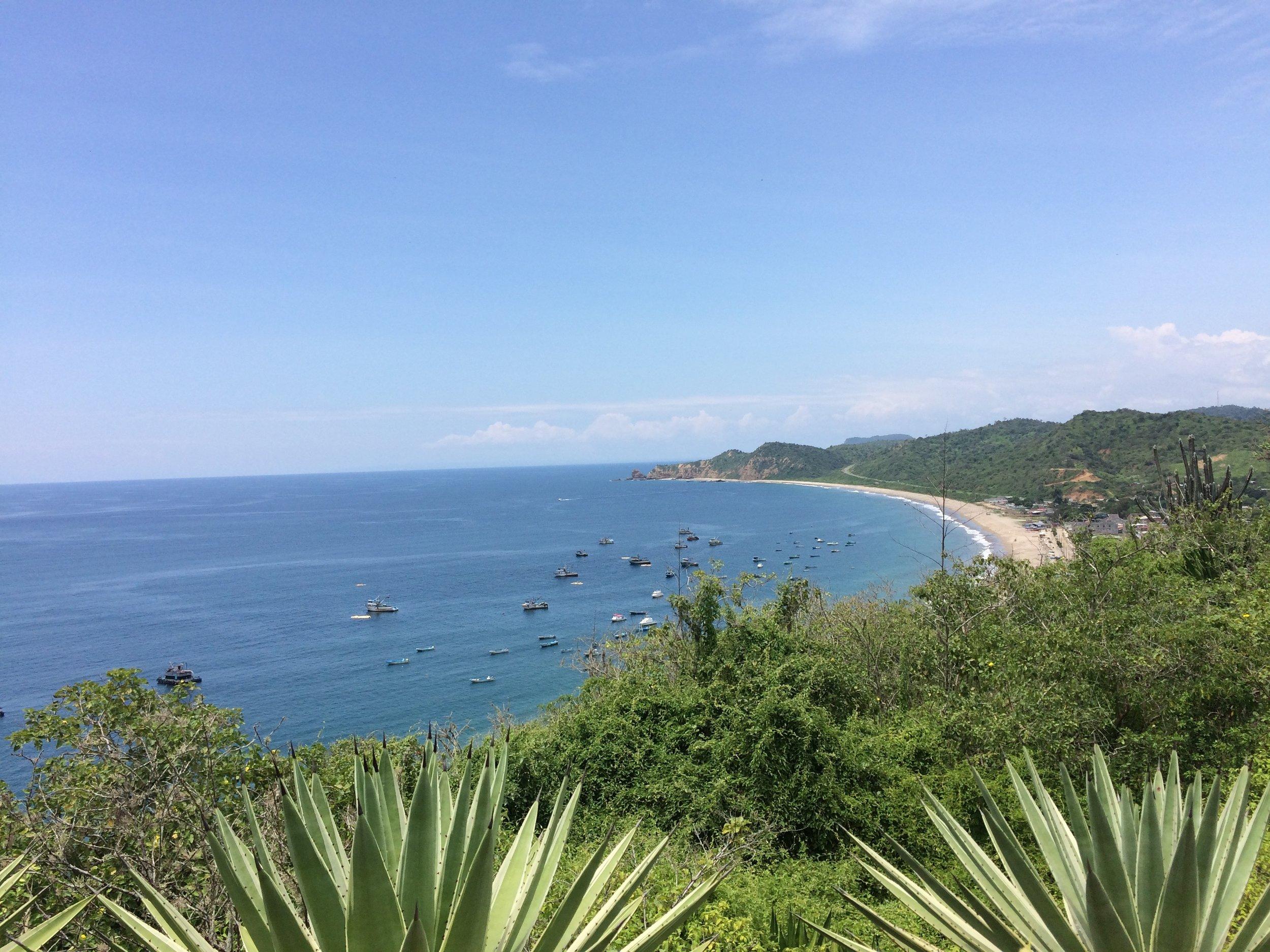 Salango Nearby Beach