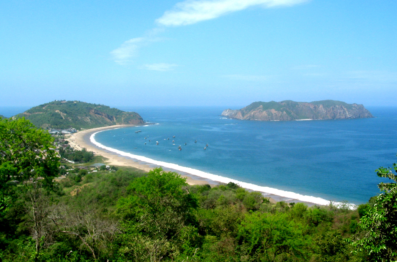 Salango Ecuador Beach