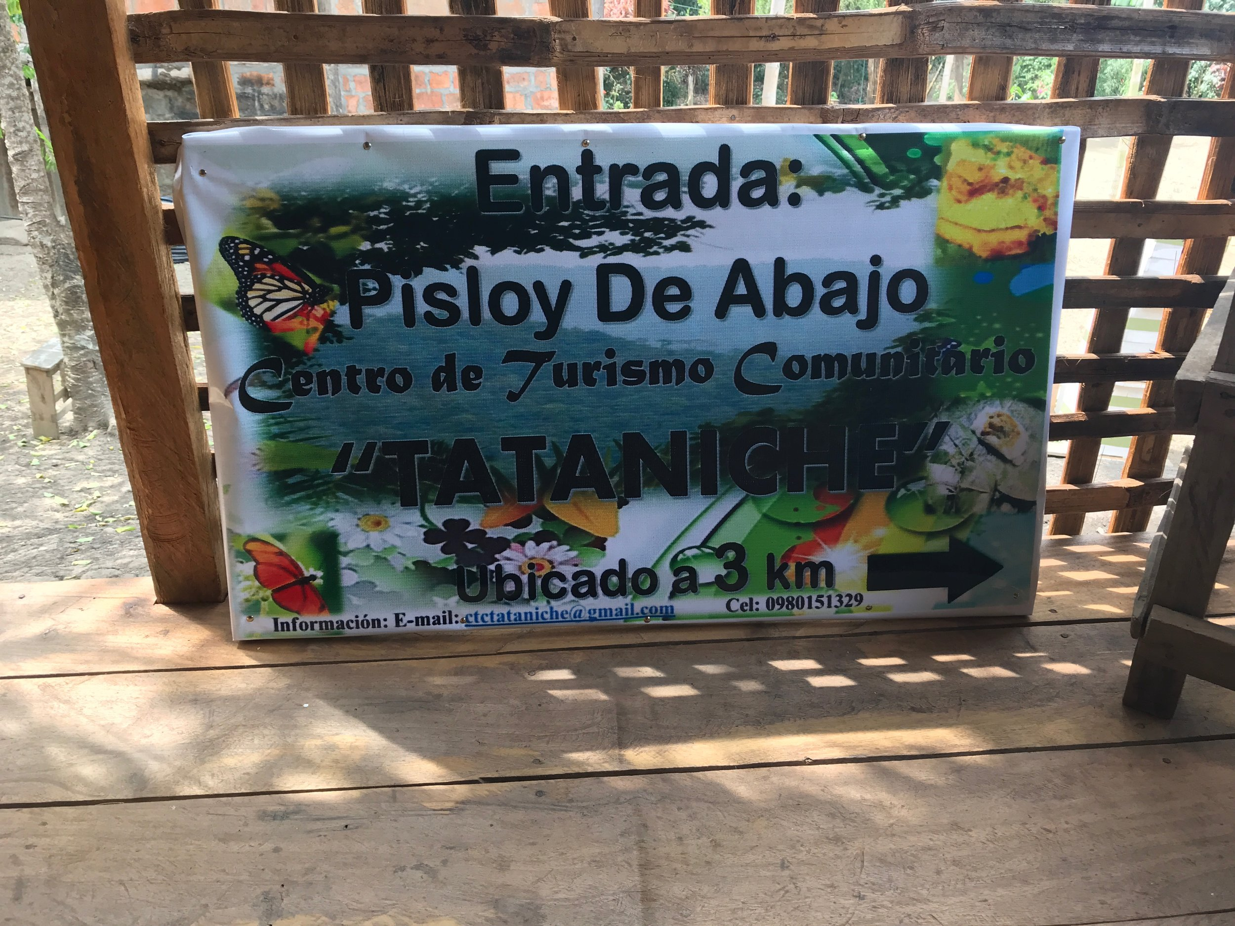 Pisloy Ecuador Tataniche