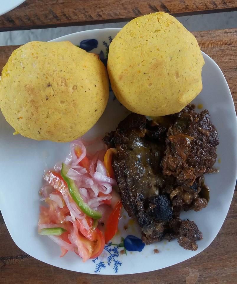 Tortillas and Morcilla in Chade