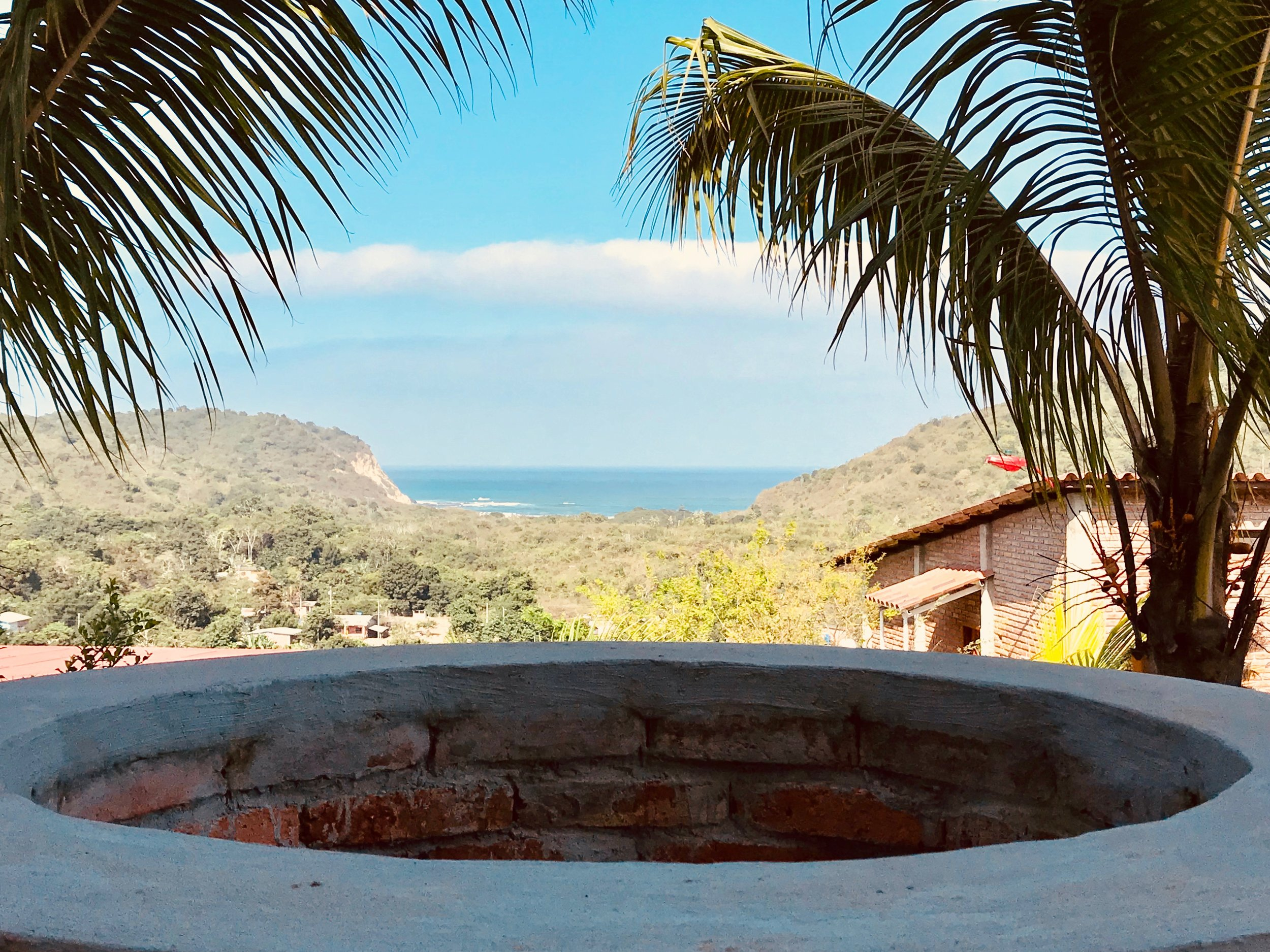 Quinta Oasis In Ecuador Views from Fire Pit