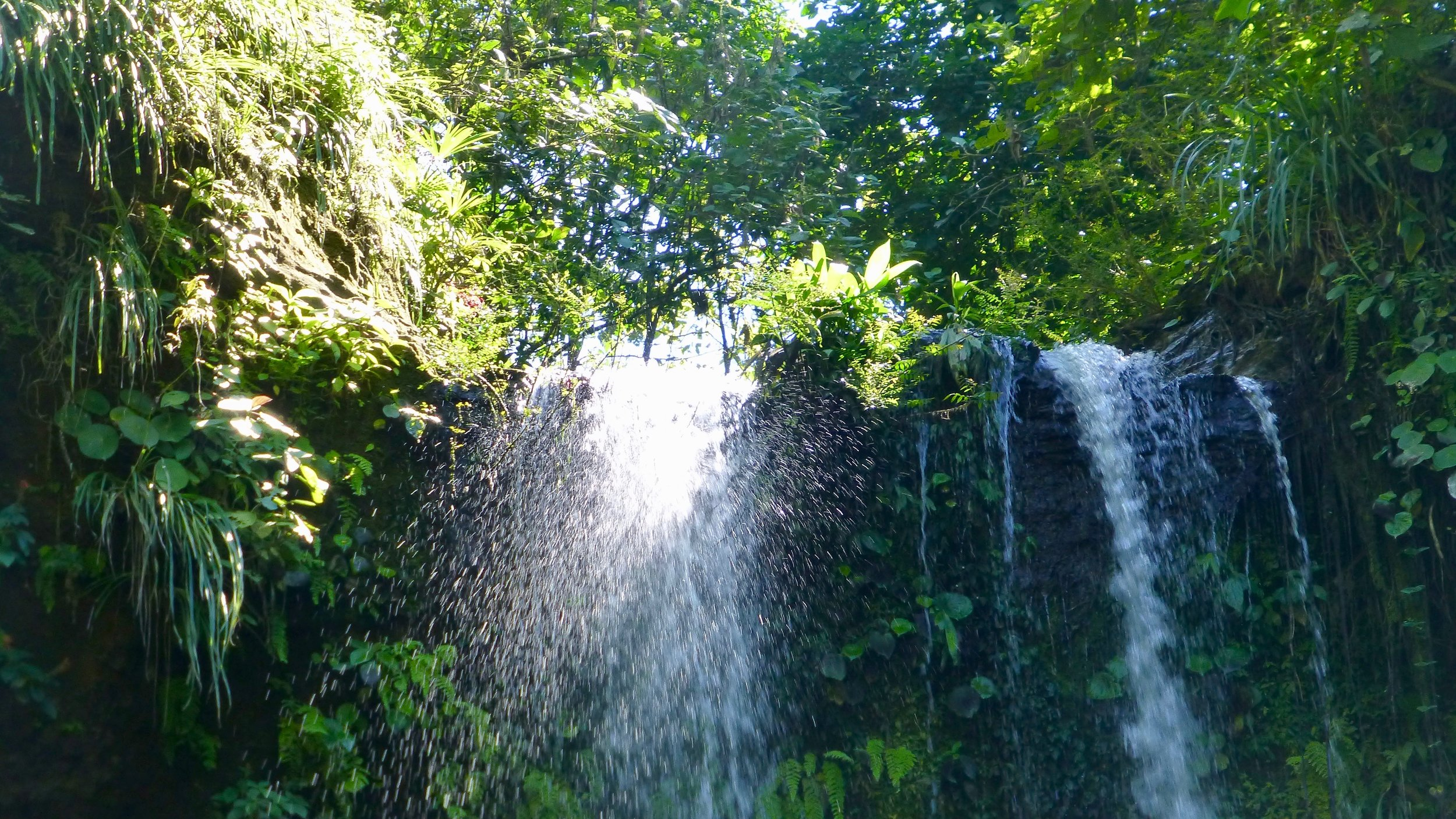 Hike to our magnificent waterfalls